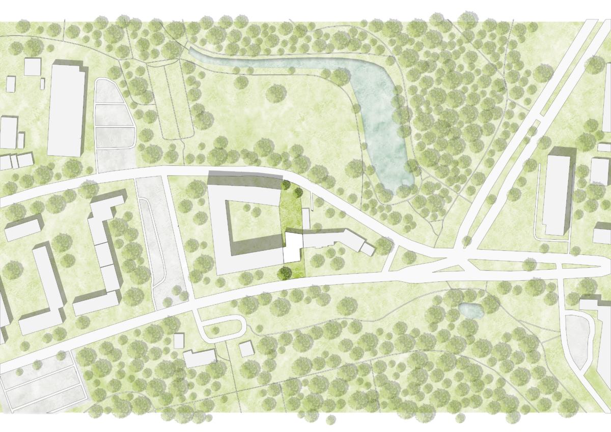 سایت پلان شهرسازی و معماری لایه باز